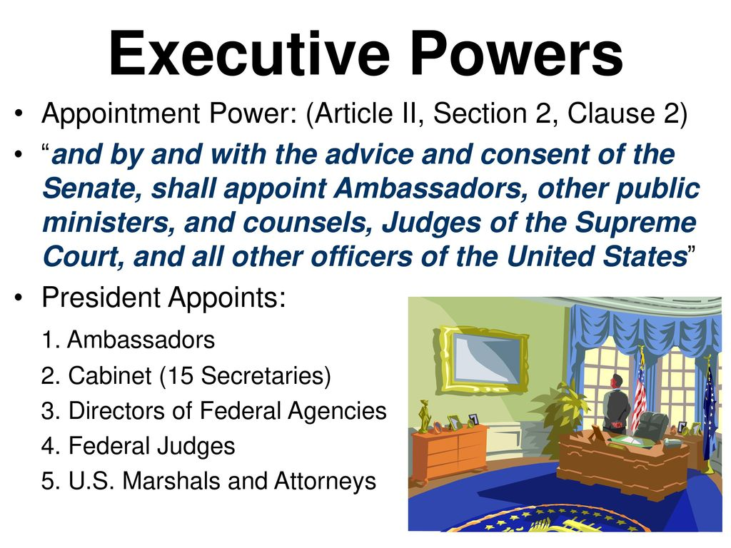Presidential Powers. - ppt download