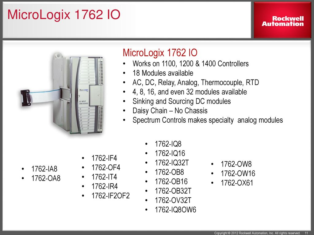 MicroLogix+1762+IO+MicroLogix+1762+IO micrologixtm family information ppt download 1762-ia8 wiring diagram at webbmarketing.co