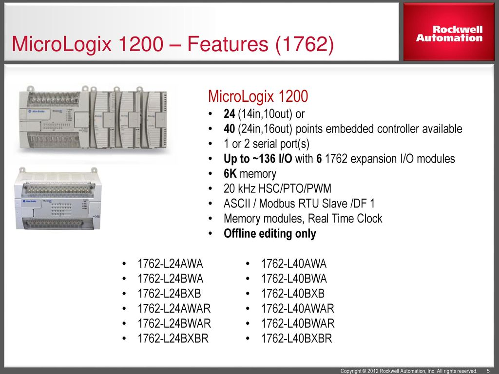 MicroLogix+1200+%E2%80%93+Features+%281762%29 micrologixtm family information ppt download 1762-ia8 wiring diagram at webbmarketing.co