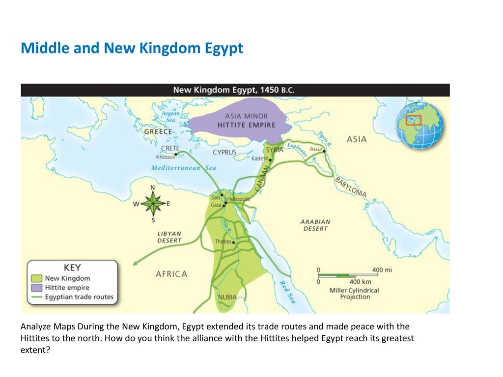 The Ancient Middle East And Egypt BC BC Ppt Download - Map of egypt during the new kingdom