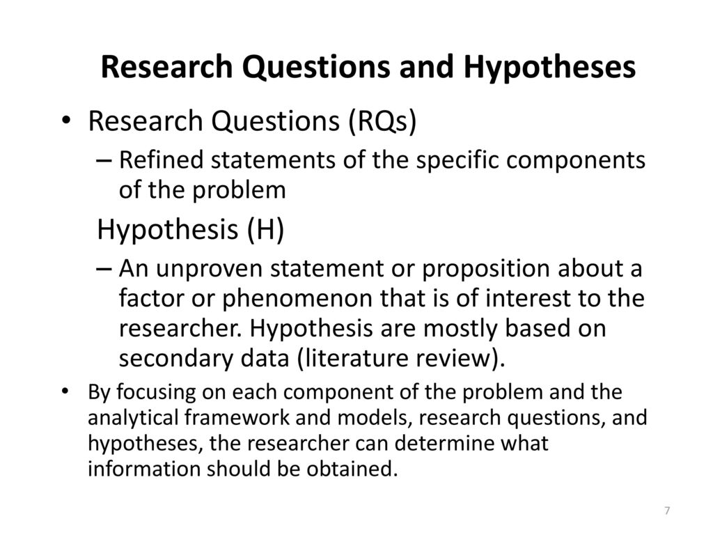 research questions hypotheses Hypothesis in qualitative research  in qualitative research, hypotheses  what do you want to test in your study that is demonstrated in your research questions.
