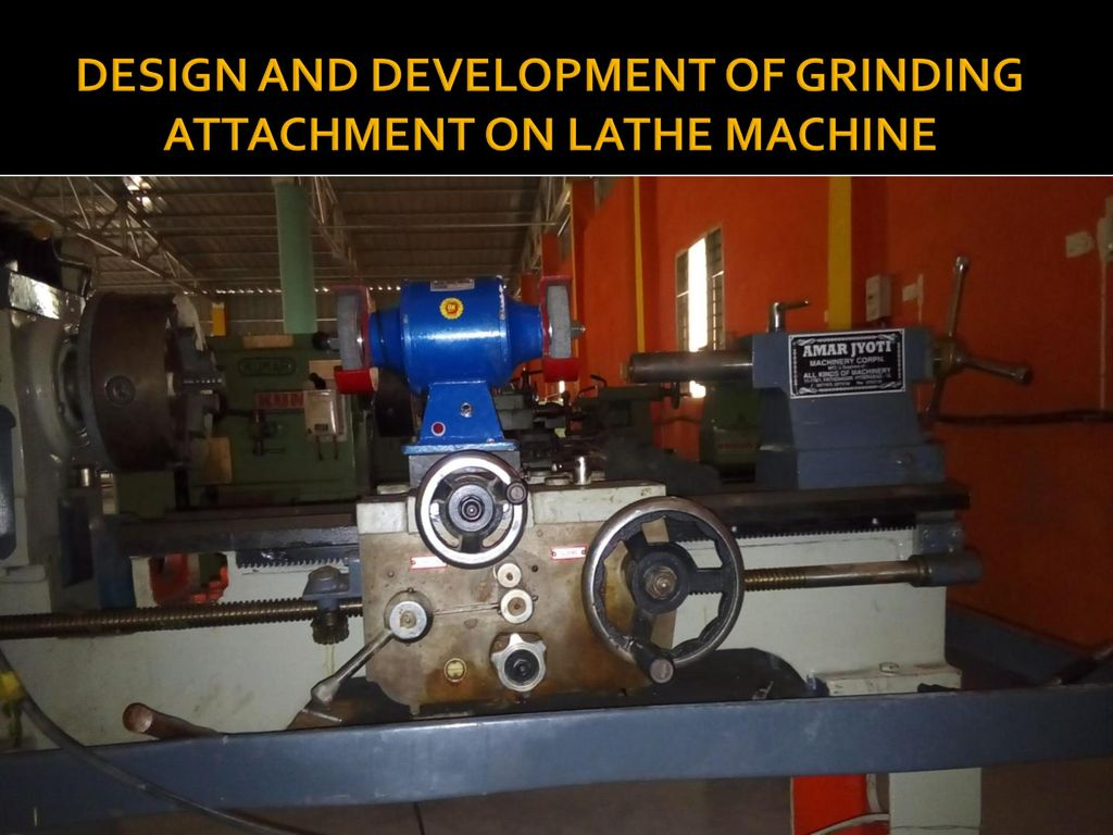 Marvelous Design And Development Of Grinding Attachment On Lathe Forskolin Free Trial Chair Design Images Forskolin Free Trialorg