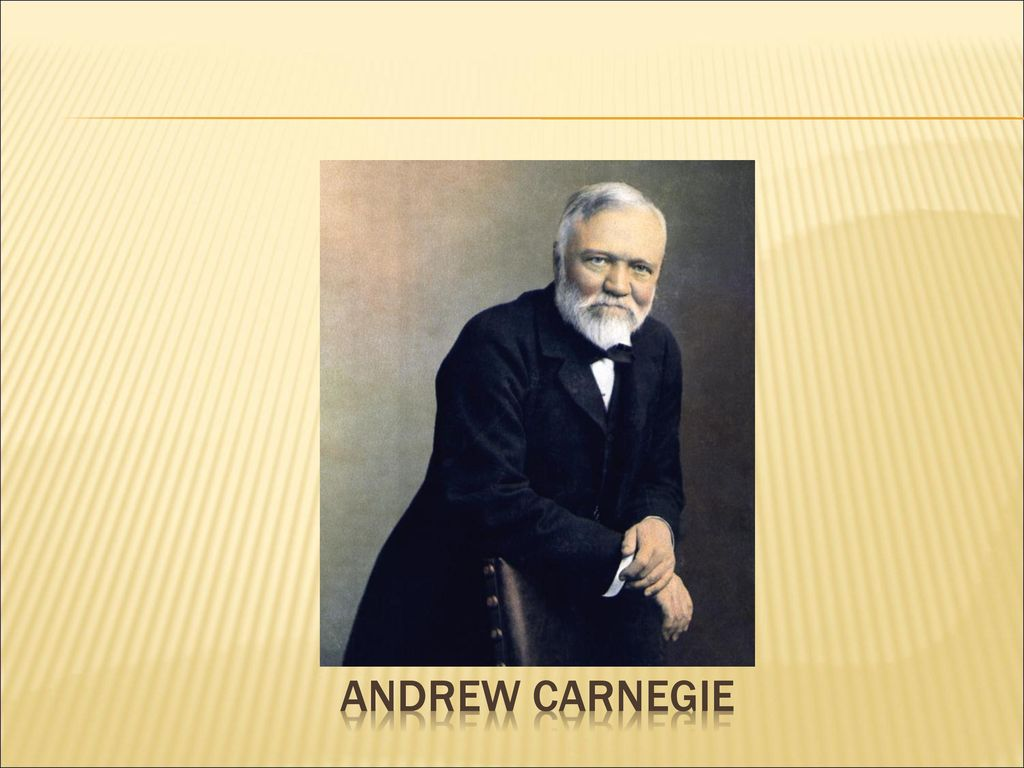 andrew carnegie veiws corporate social responsibility The concept of corporate social responsibility (csr) is included in the definition of sustainability.