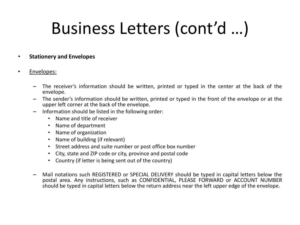 The Appearance And Design Of Business Messages Ppt Video Online