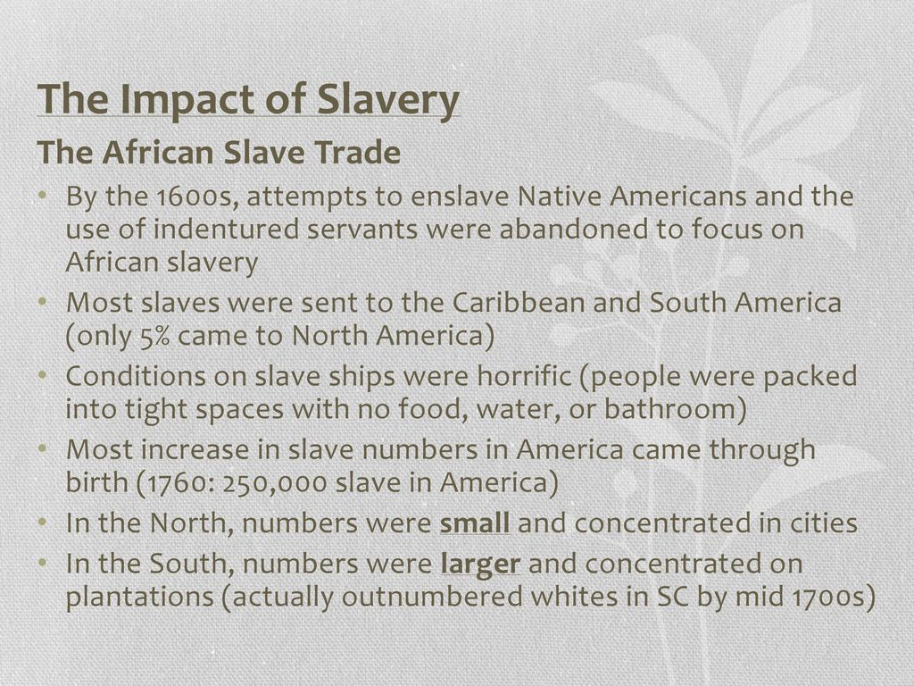 16 effects of the slave trade in african societies Chapter 10 african societies and kingdoms ca +  east african slave trade e southern africa and great zimbabwe 1  chapter 16 the acceleration of global.