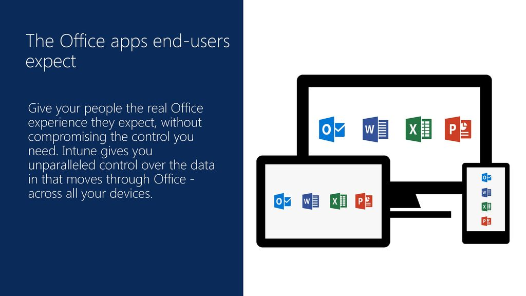 The Office apps end-users expect