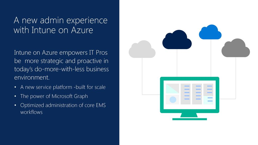 A new admin experience with Intune on Azure