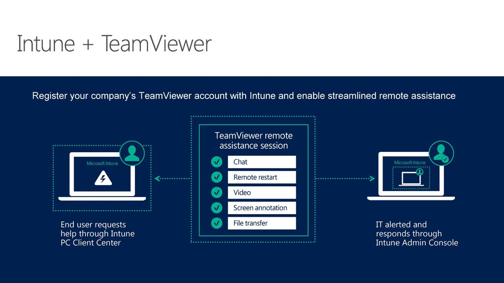 TeamViewer remote assistance session