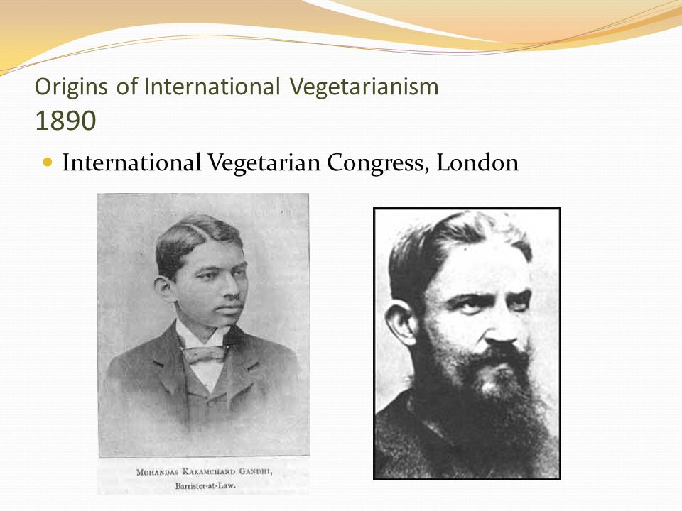 Origins of International Vegetarianism 1890