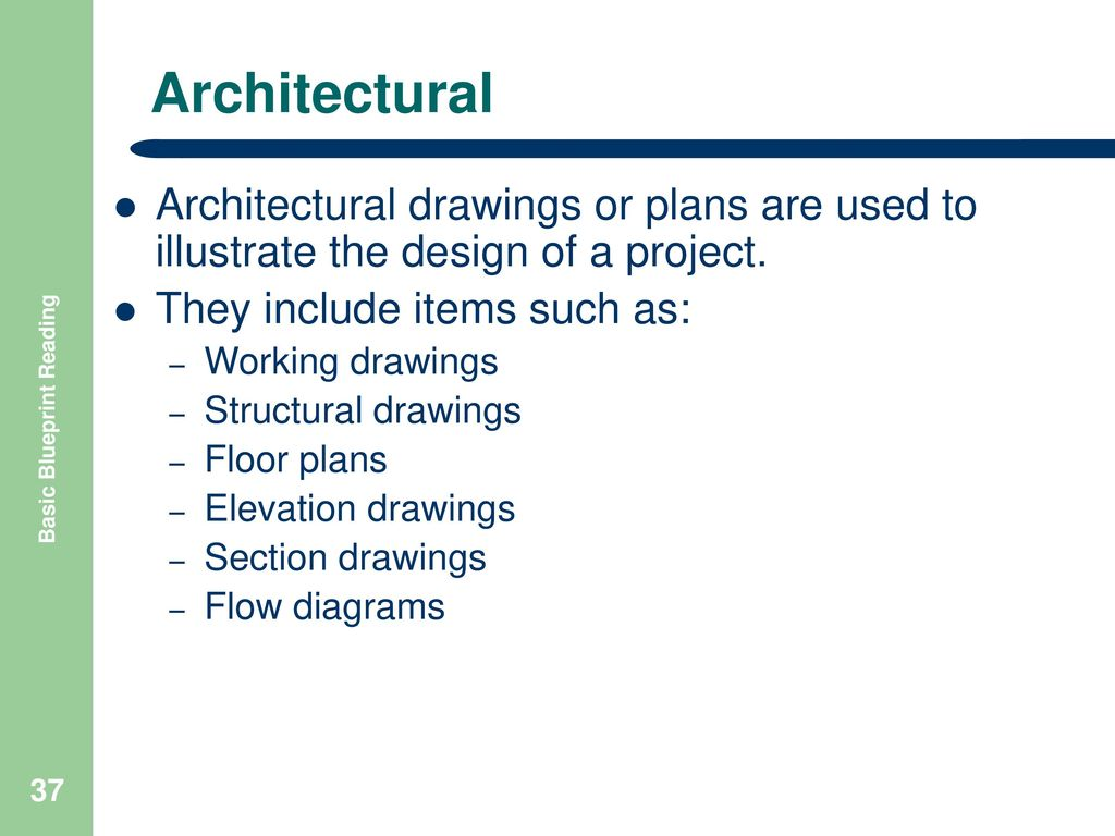 Basic blueprint reading ppt download for How to read structural blueprints