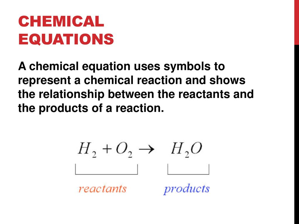 Chemical reactions ppt download 11 chemical equations a chemical equation uses symbols biocorpaavc Choice Image