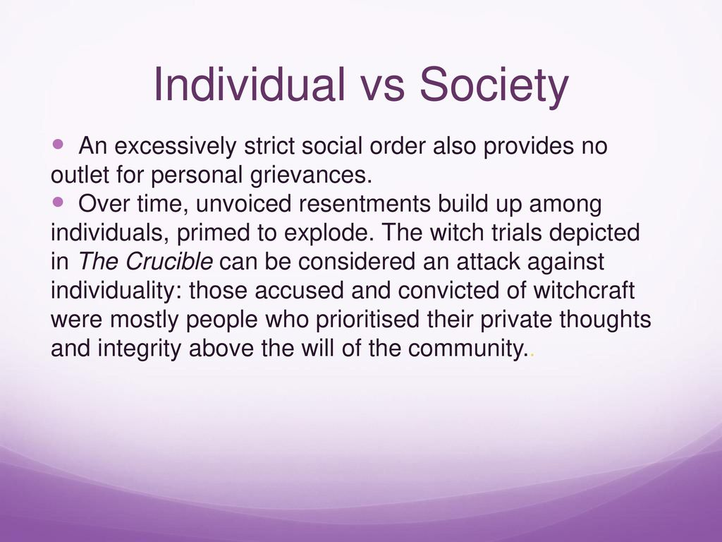 the crucible personal integrity The crucible essay plan: reputation and integrity  certain that their personal opinion of themselves is what matters, even in a dangerously exposing and open .