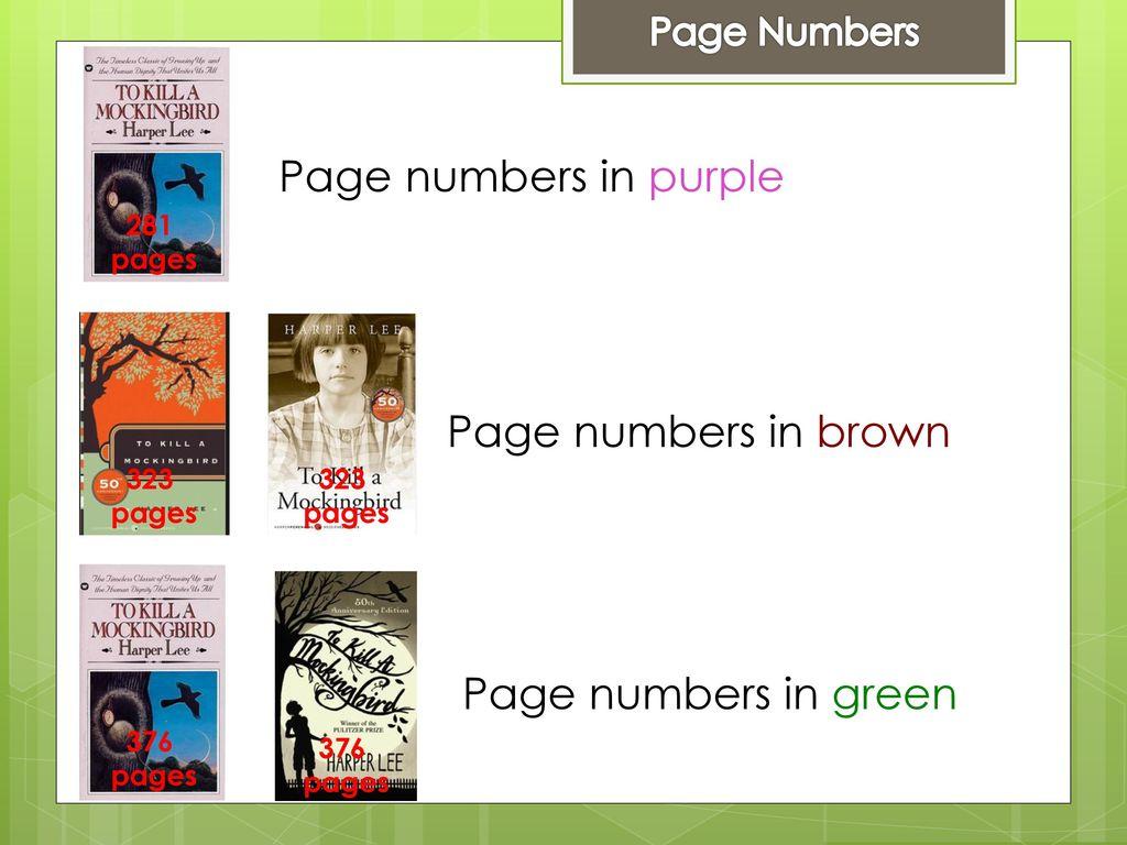 Close reading to kill a mockingbird ppt download 2 page biocorpaavc Choice Image