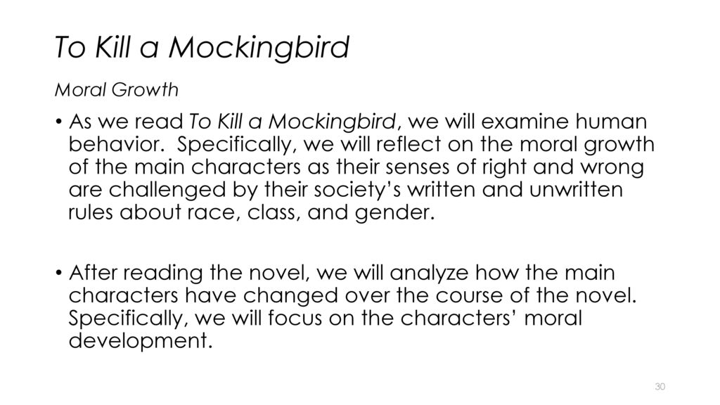 the growth and development of scout in to kill a mockingbird a novel by harper lee Shoot all the bluejays you want, if you can hit 'em, but remember it's a sin to kill a mockingbirda lawyer's advice to his children as he defends the real.