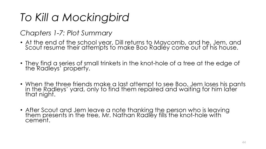 an analysis of the setting in to kill a mockingbird by harper lee To kill a mockingbird- story analysis  harper lee's to kill a mockingbird remains as much a part of 21st century pop culture as it  (the novel's setting).