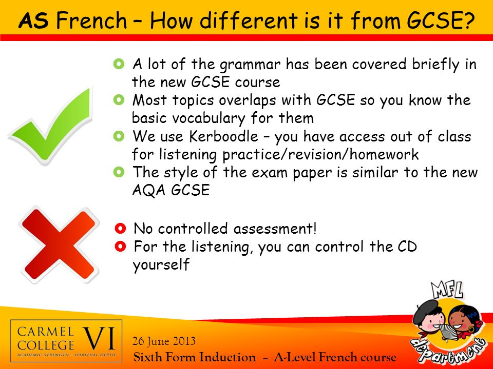 AS French – How different is it from GCSE