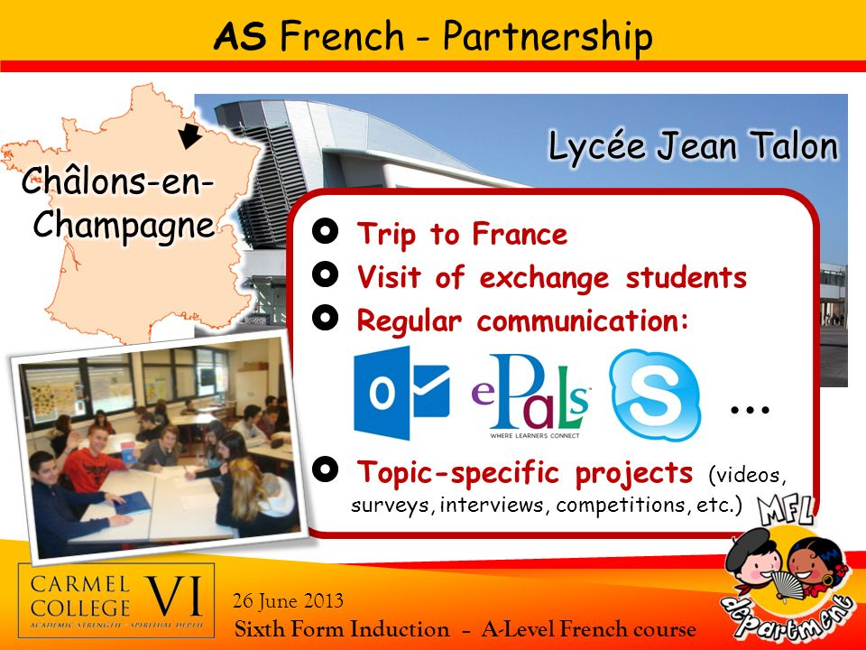 AS French - Partnership