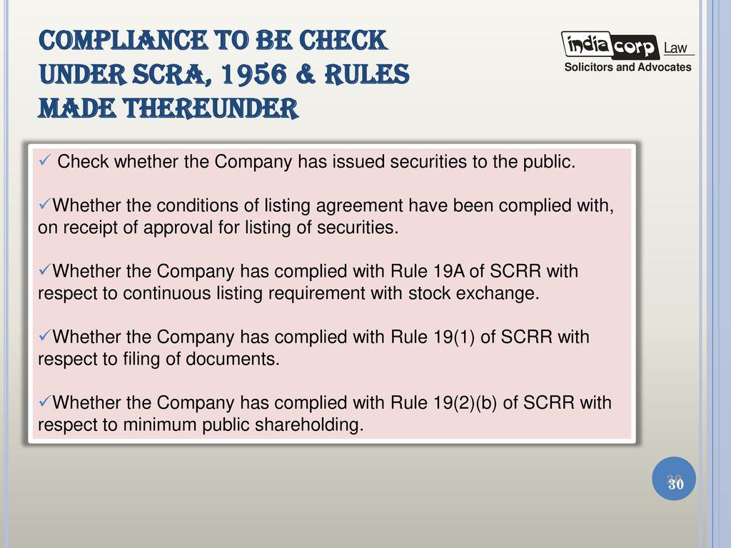 Secretarial audit presentation by a k kuchhal managing partner 30 compliance platinumwayz