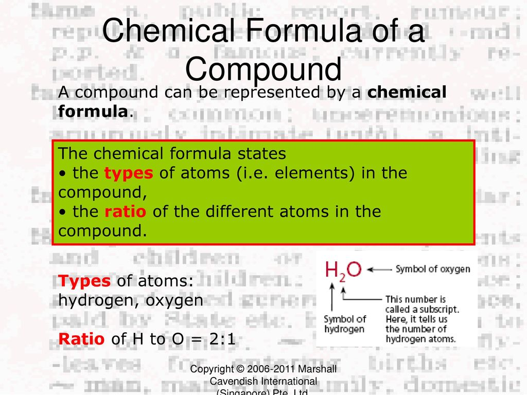 Classification of matter ppt download 13 chemical formula buycottarizona Image collections