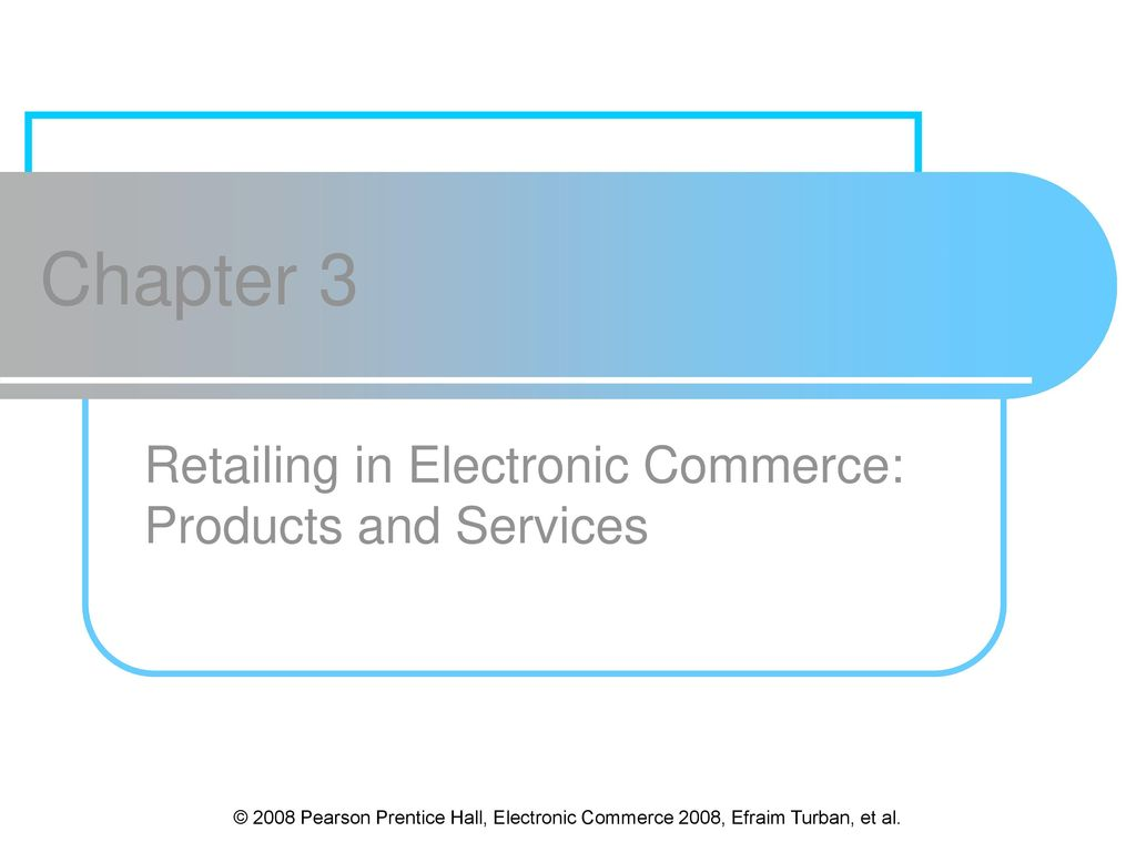 retailing in electronic commerce products and The boundaries between ecommerce and physical commerce, ie the retail store, will become less definite as time passes, and companies are already looking at ways of tying together online tracking and customer information with their real-world experience.