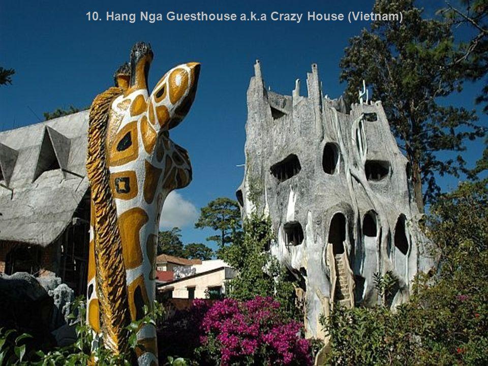 10. Hang Nga Guesthouse a.k.a Crazy House (Vietnam)