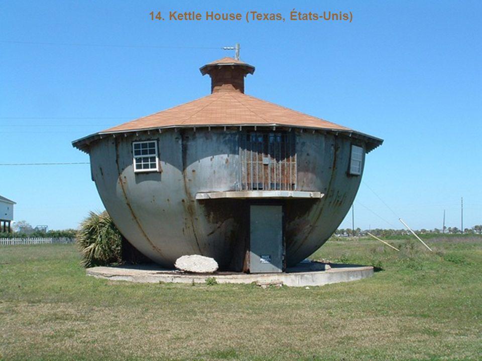 14. Kettle House (Texas, États-Unis)
