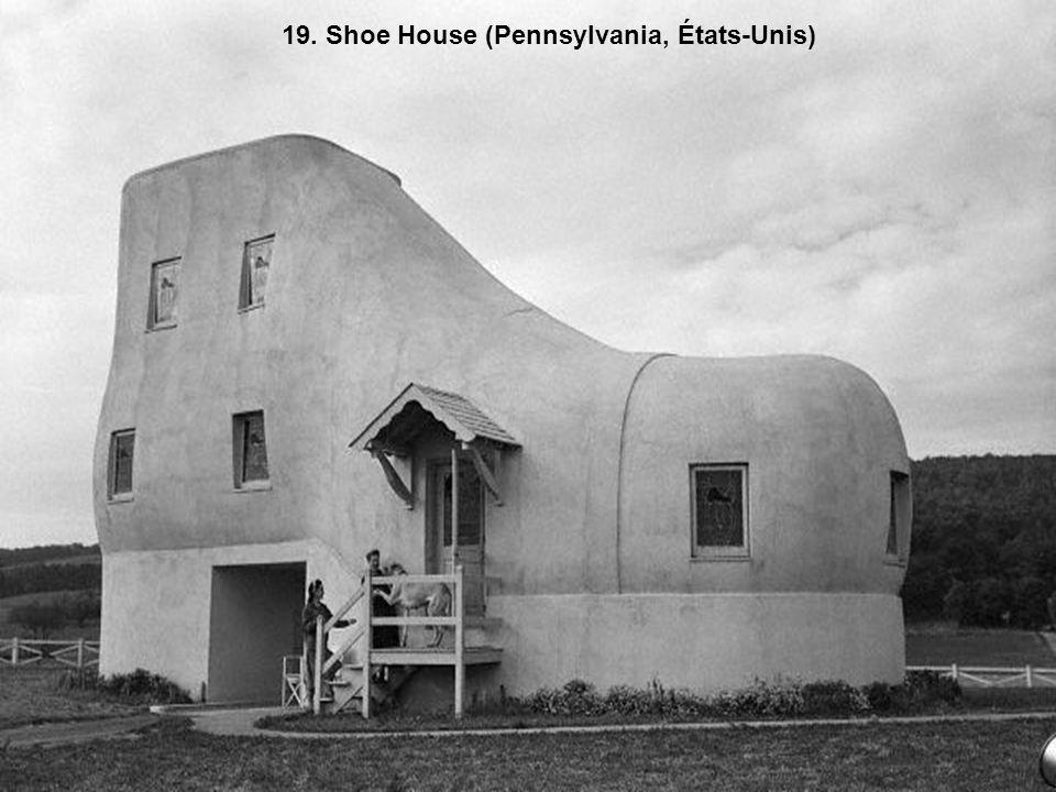 19. Shoe House (Pennsylvania, États-Unis)