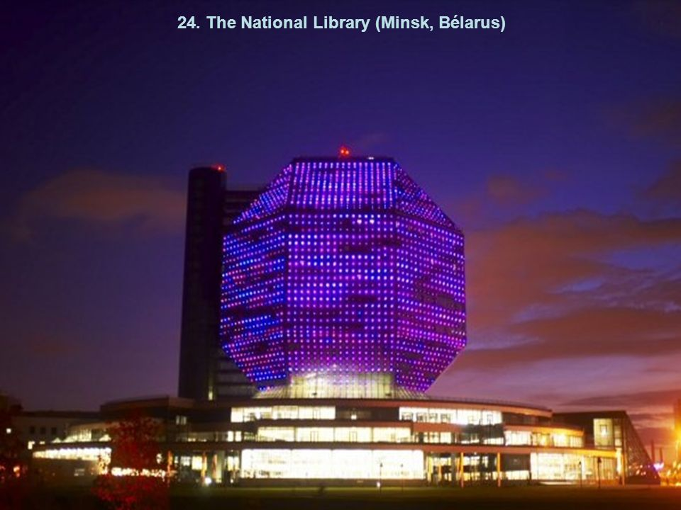 24. The National Library (Minsk, Bélarus)