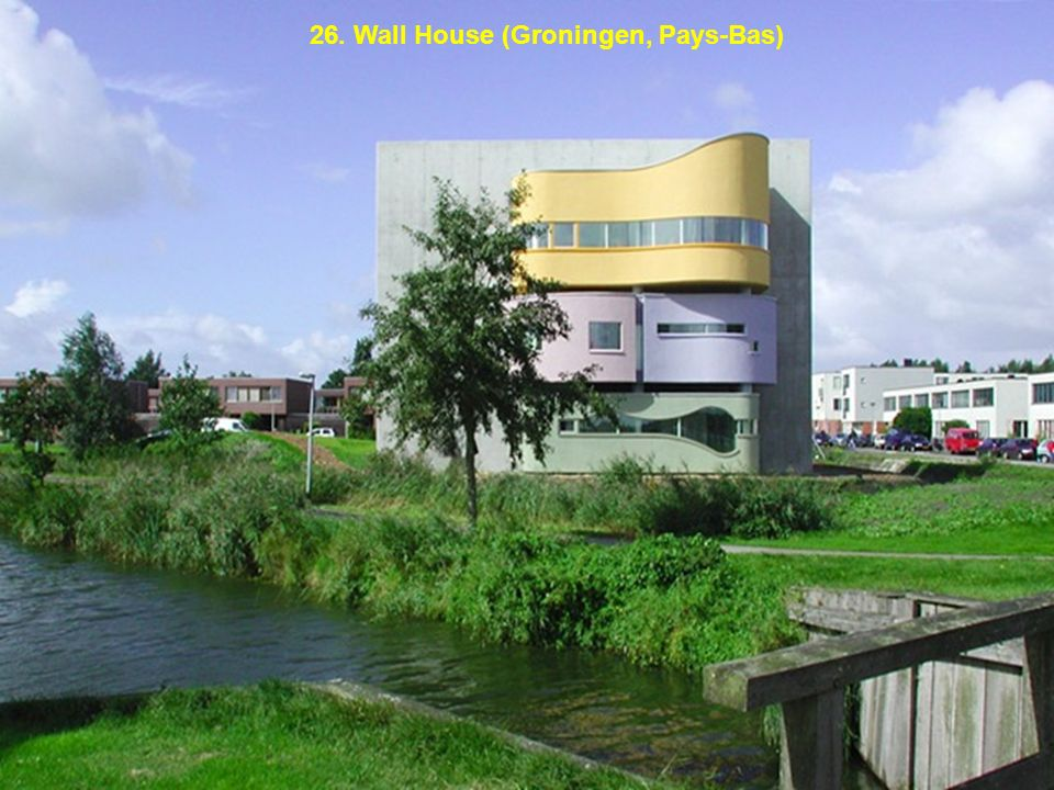 26. Wall House (Groningen, Pays-Bas)