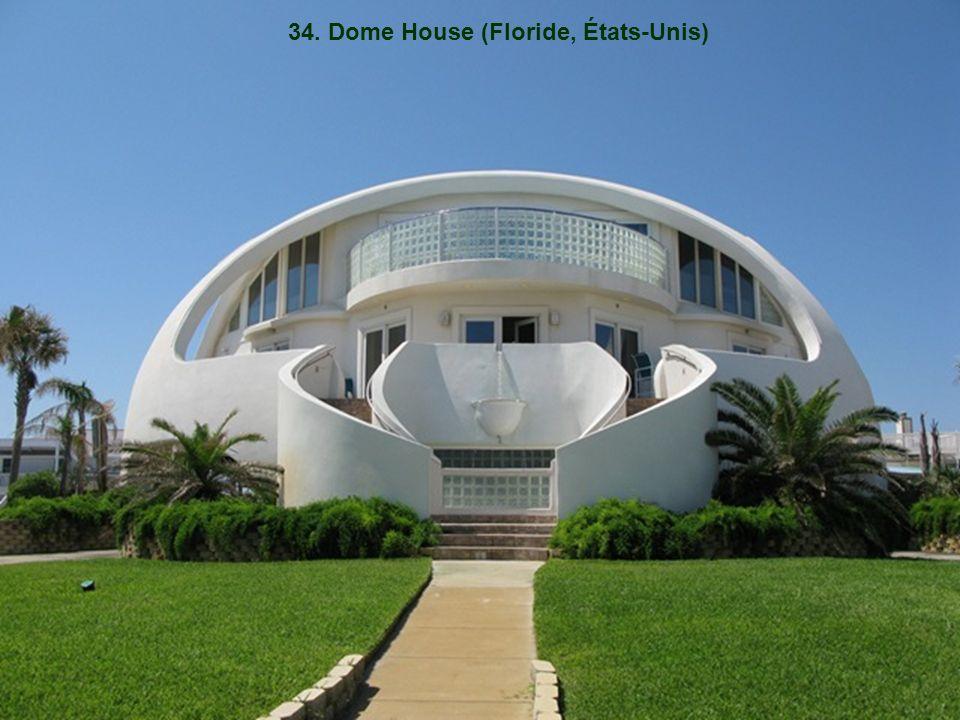 34. Dome House (Floride, États-Unis)