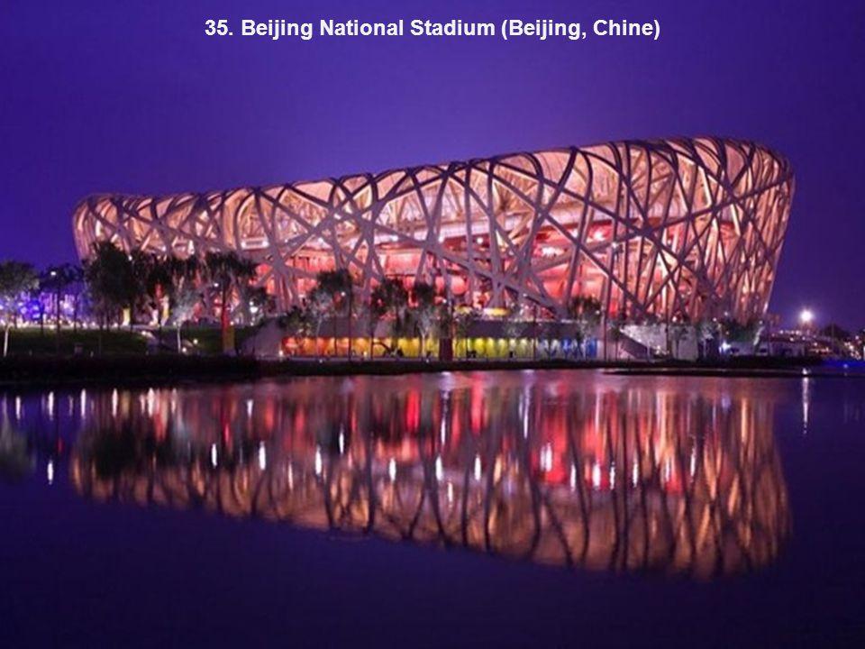 35. Beijing National Stadium (Beijing, Chine)