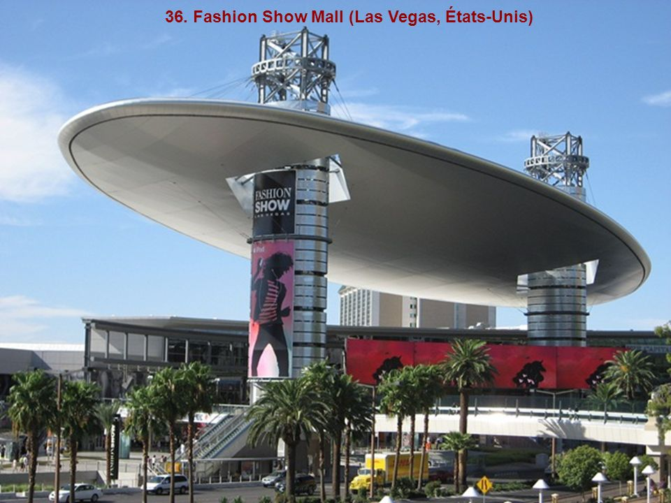 36. Fashion Show Mall (Las Vegas, États-Unis)