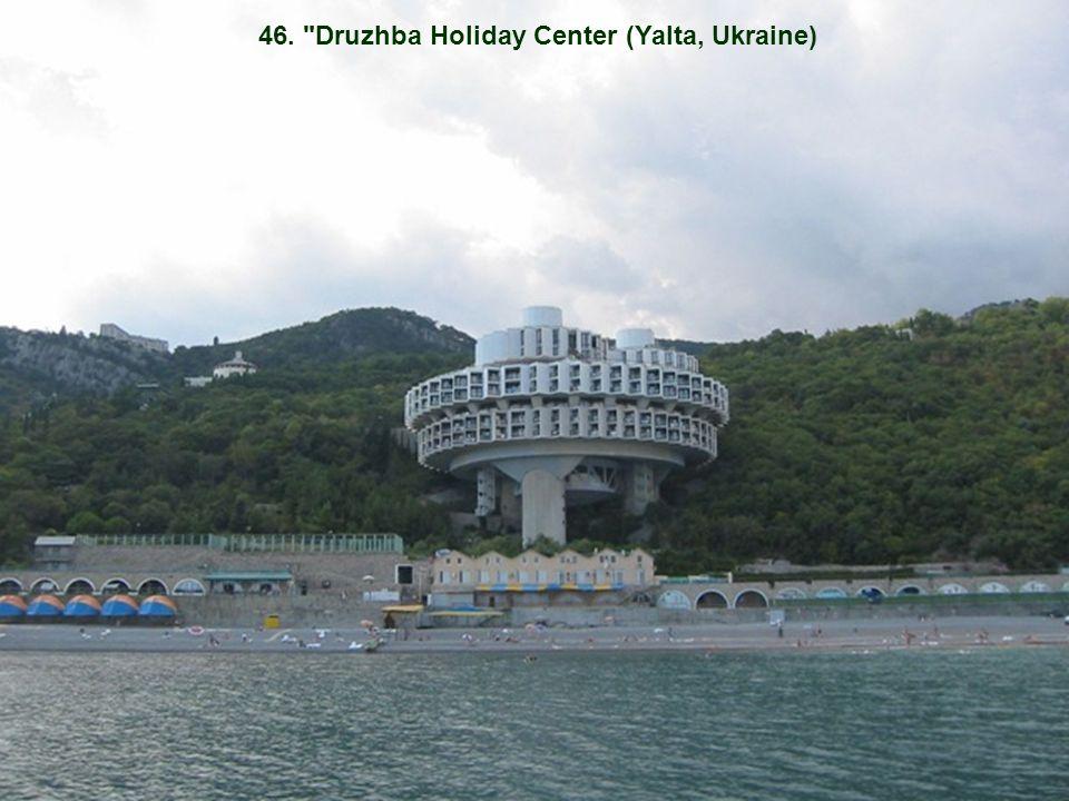 46. Druzhba Holiday Center (Yalta, Ukraine)
