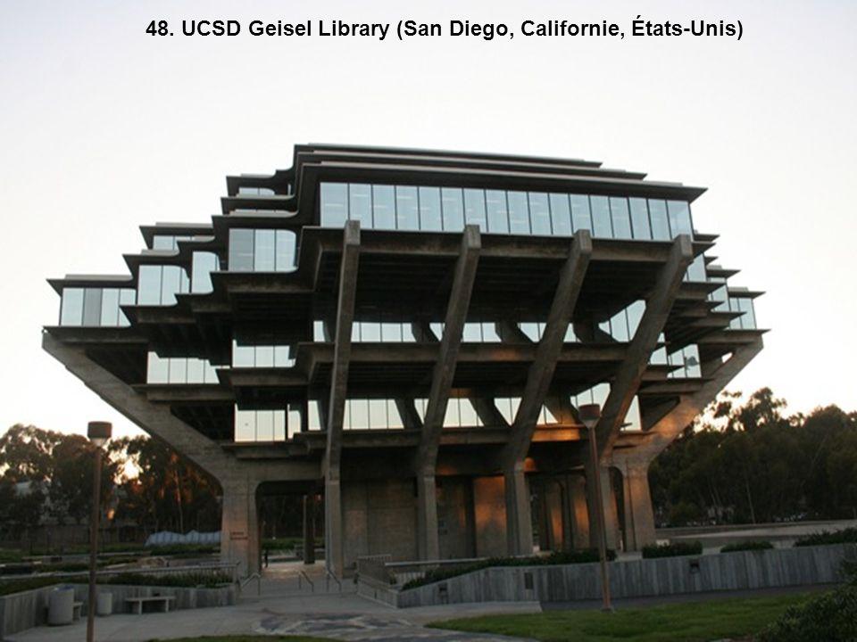 48. UCSD Geisel Library (San Diego, Californie, États-Unis)