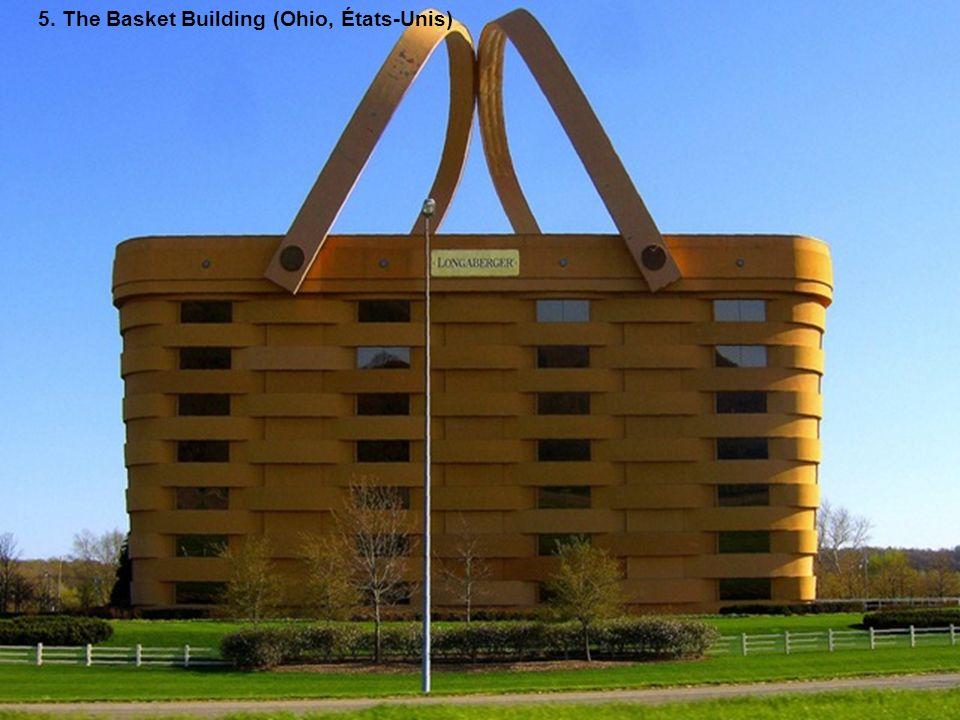 5. The Basket Building (Ohio, États-Unis)