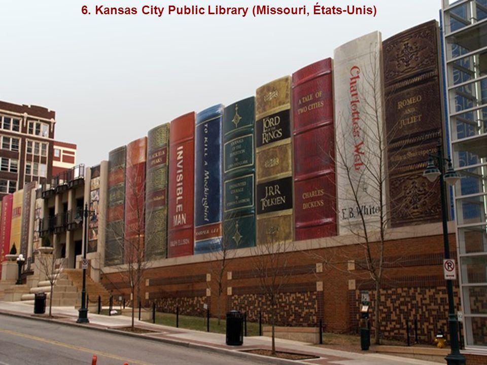 6. Kansas City Public Library (Missouri, États-Unis)