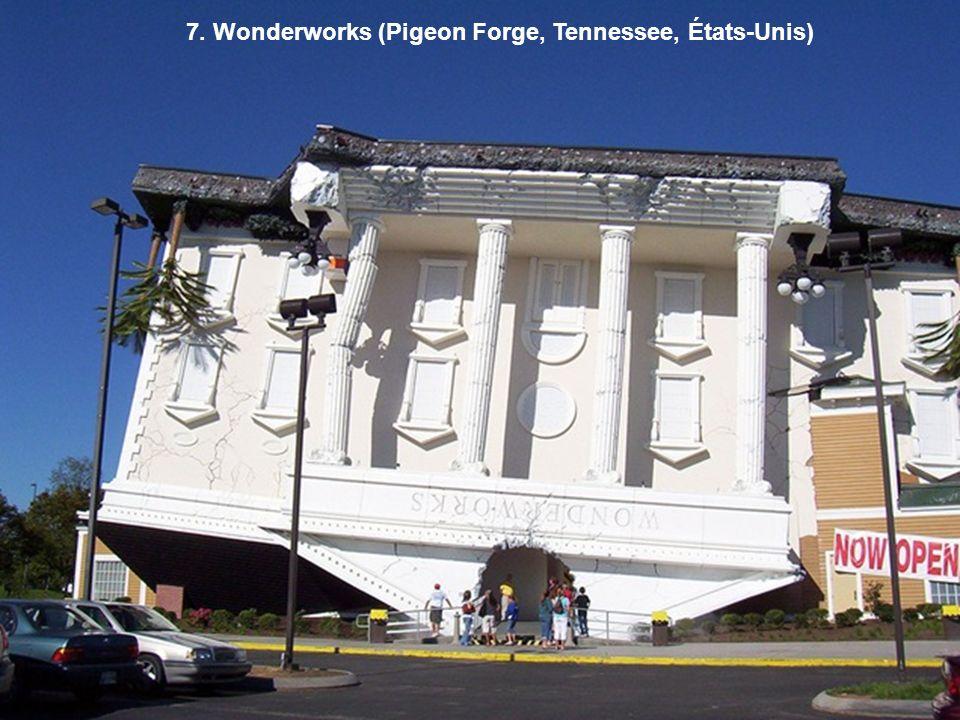 7. Wonderworks (Pigeon Forge, Tennessee, États-Unis)