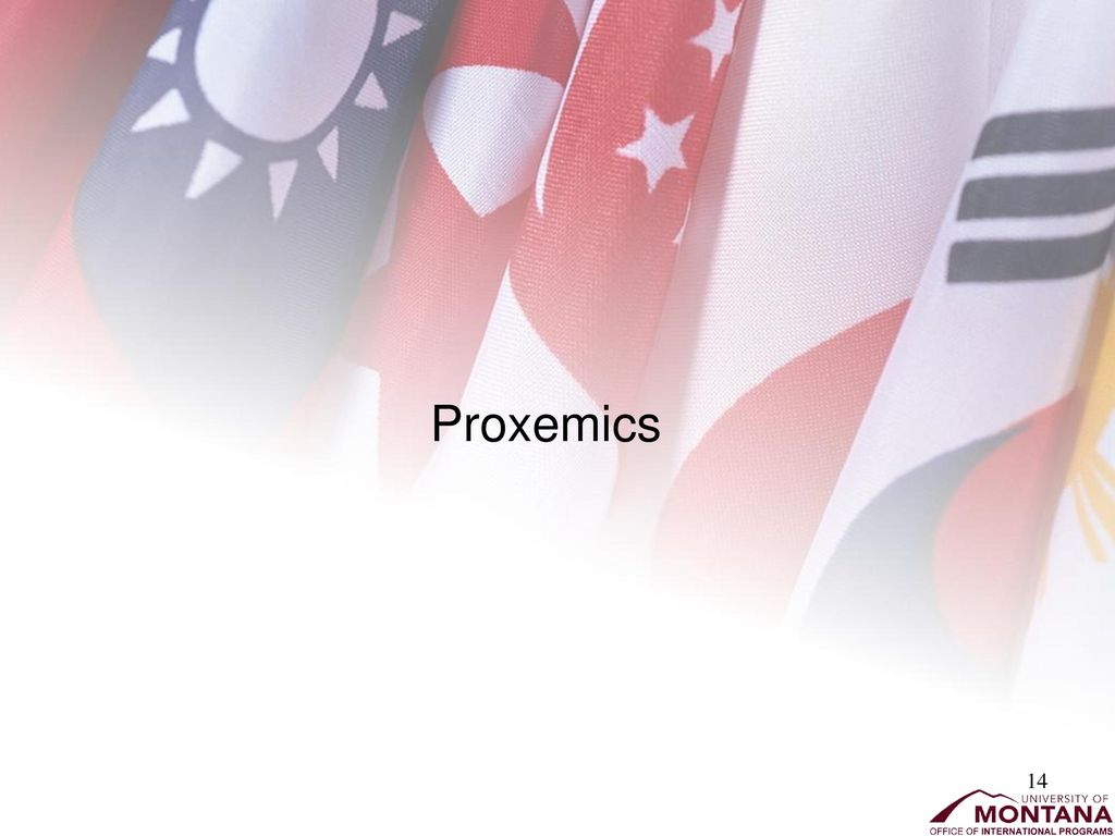 "chronemics and proxemics Proxemic theory 61 able to verbalize the cultural norms that dictate their proxemic behavior as the anthropological adage goes, ""we."