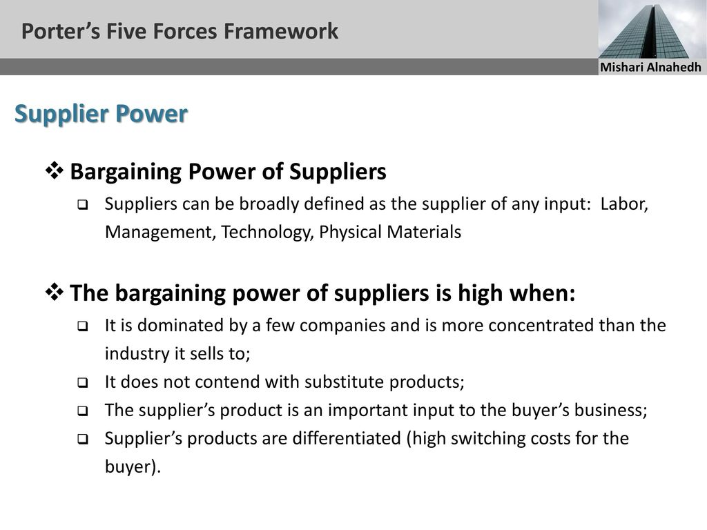 bargaining power supplier unilever The five forces are (1) threat of new entrants, (2) threat of substitute products or services, (3) bargaining power of buyers, (4) bargaining power of suppliers, (5.
