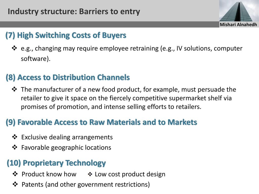 barriers to entry in pc industry This study updates the assessment of the industrial and market structure of the computer manufacturing and software development industries it describes the structure of these industries in terms.
