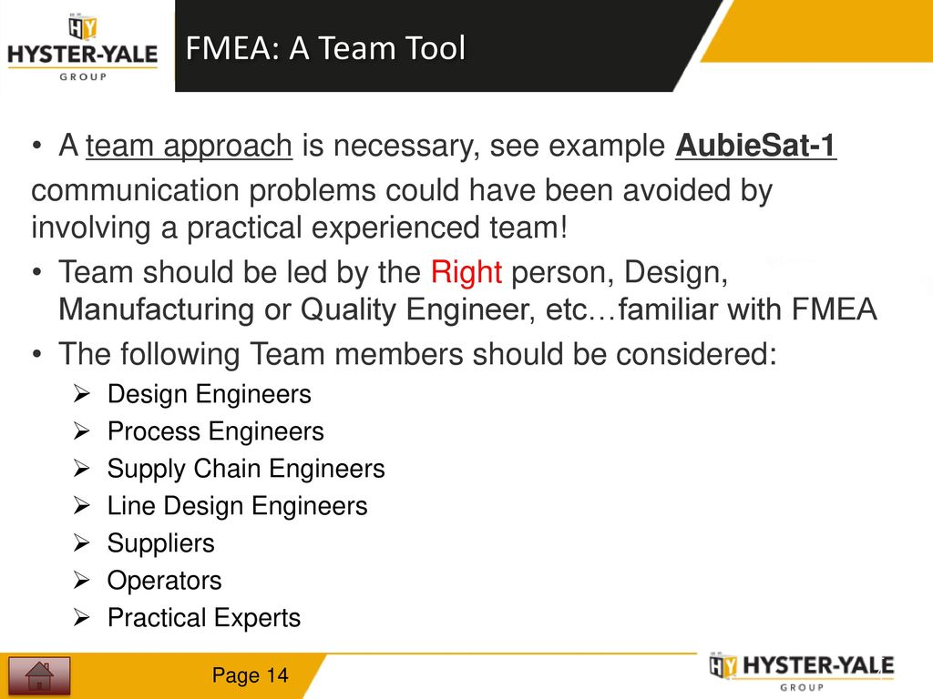 fmea tool