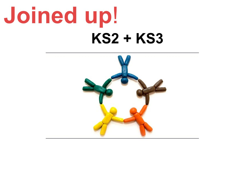 Joined up! KS2 + KS3.