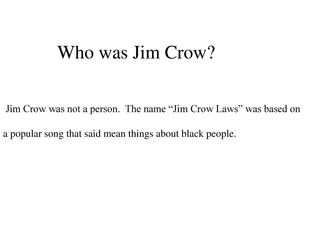jim crow laws list pdf