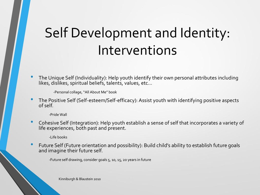 personal growth and identity The difference, however, is that some people can recognize the fact that having and maintaining a systematic identity is an illusion, one that leads to frequent missteps, and as a result, they can.