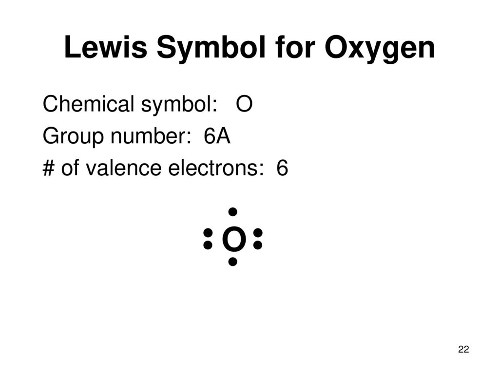 Unit 3 chapters 2 p 64 66 8 ppt download lewis symbol for oxygen biocorpaavc