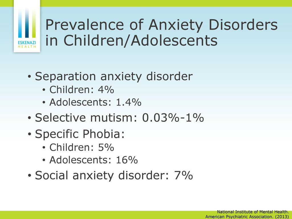social anxiety disorder in children and adolescents What is social anxiety disorder children and teens with social anxiety disorder have an excessive and persistent fear of social and/or performance situations such as school, parties, athletic activities, and more.