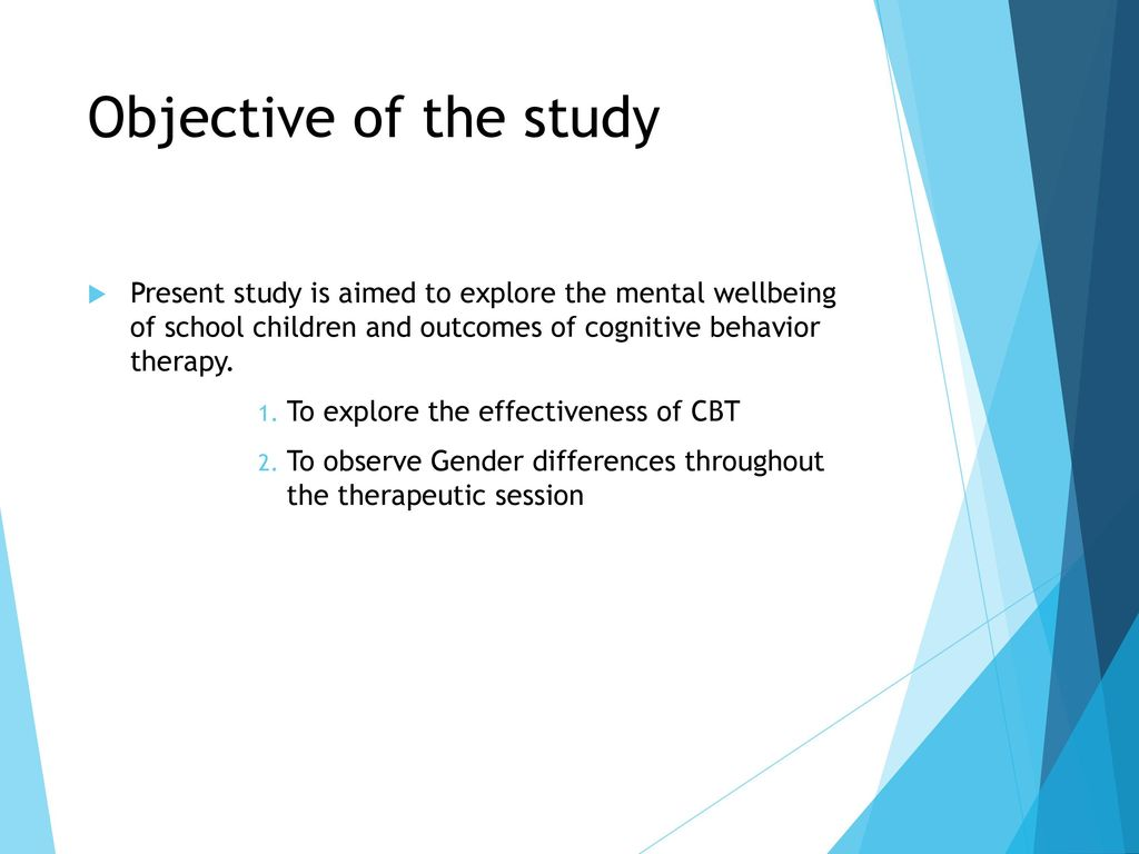 How Effective is Cognitive Behavioral Therapy (CBT) for ...