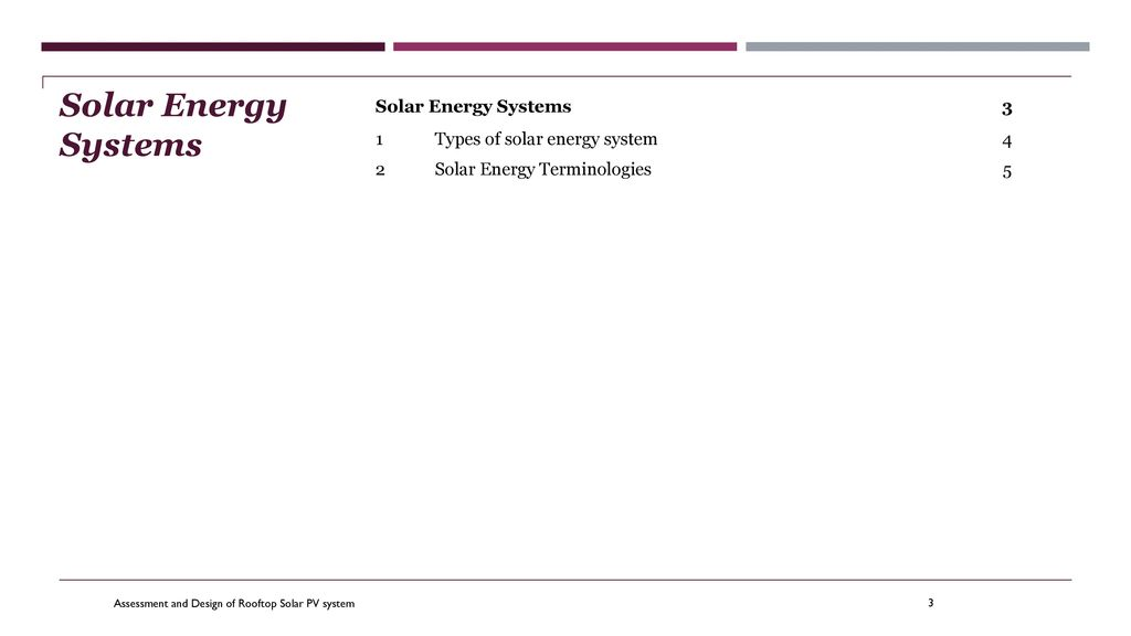 Assessment And Design Of Rooftop Solar Pv System Ppt