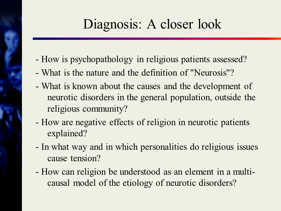 Diagnosis: A closer look