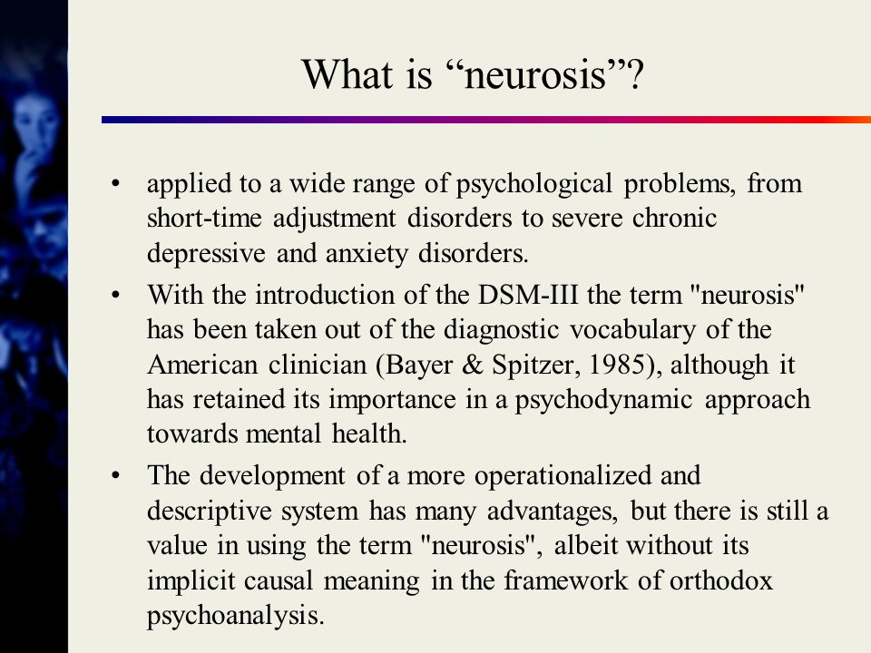 What is neurosis